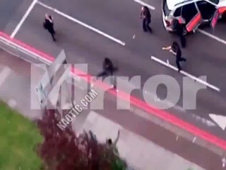 London Beheading The Moment The Attackers Charge The Police & Get Shot
